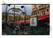 Paris Metro 1 Carry-all Pouch
