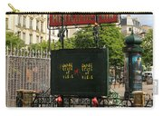 Paris Metro 3 Carry-all Pouch