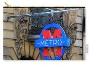 Paris Metro 5 Carry-all Pouch