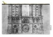 Paris: Notre Dame, 1848 Carry-all Pouch