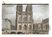 Paris: Notre Dame, C1820s Carry-all Pouch