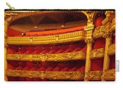 Paris Opera House Iv   Box Seats Carry-all Pouch
