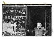 Paris: Restaurant, 1890s Carry-all Pouch