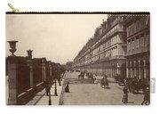 Paris: Rue De Rivoli, C1900 Carry-all Pouch