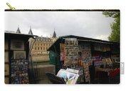 Paris Street Vendor 2 Carry-all Pouch