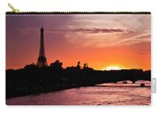 Paris Sunset Carry-all Pouch