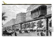 Paris: Tramway, 1880s Carry-all Pouch by Granger