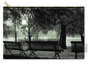Park Benches In Autumn Carry-all Pouch by Joana Kruse