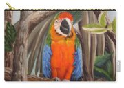 Parrot At New Orleans Zoo Carry-all Pouch