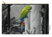 Parrott Thro The Cage Carry-all Pouch