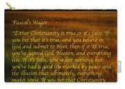 Pascal's Wager Carry-all Pouch