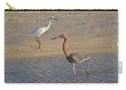 Passing Egrets Carry-all Pouch