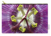 Passion Flower Close Up Carry-all Pouch