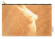Pastel Chiaroscuro Nude Carry-all Pouch