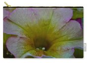 Pastel Petunias Carry-all Pouch
