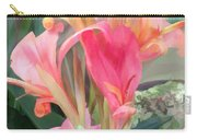 Pastel Pink Cannas Carry-all Pouch