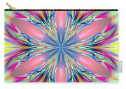 Pastel Pink Kaleidoscope Carry-all Pouch