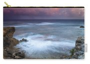 Pastel Storm Carry-all Pouch by Mike  Dawson