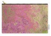 Pastle Pink Stone Carry-all Pouch