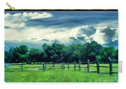 Pastoral Greenery Carry-all Pouch by Lourry Legarde