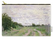 Path Through The Vines At Argenteuil Carry-all Pouch