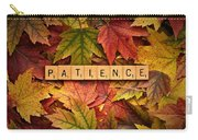 Patience-autumn Carry-all Pouch