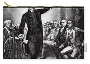Patrick Henry, American Patriot Carry-all Pouch