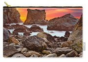 Patrick's Point Sunset Seastacks Carry-all Pouch