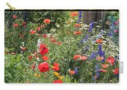 Patriotic Flowers Carry-all Pouch
