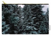 Pat's Winter Trees 1d Carry-all Pouch