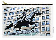 Paul Revere Galloping Statue Carry-all Pouch