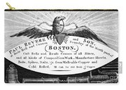 Paul Revere: Trade Card Carry-all Pouch
