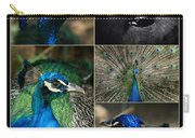 Pavo Cristatus IIi The Heart Of Solitude  - Indian Blue Peacock  Carry-all Pouch
