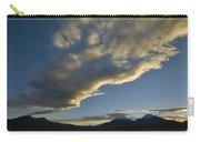 Payachatas Mountains. Republic Of Bolivia.  Carry-all Pouch