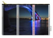 Peace Bridge 01 Triptych Series Carry-all Pouch
