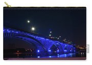Peace Bridge At Night Carry-all Pouch