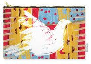 Peace Dove 2 Carry-all Pouch by Carol Leigh