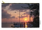 Peaceful Caribbean Sunset Carry-all Pouch