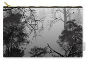 Peaceful Shades Of Gray Carry-all Pouch