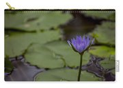 Peaceful Waterlily Carry-all Pouch