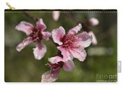 Peach Blossom Clusters Carry-all Pouch