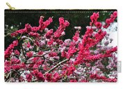 Peach Blossom Carry-all Pouch by Kaye Menner