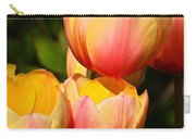 Peachy Tulips Carry-all Pouch