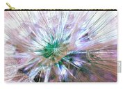 Peacock Dandelion - Macro Photography Carry-all Pouch