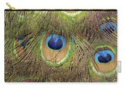 Peacock Feather Eyes Carry-all Pouch
