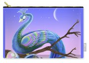 Peacock Moon Carry-all Pouch
