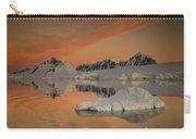 Peaks At Sunset Wiencke Island Carry-all Pouch by Colin Monteath