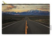 Peaks To Craters Highway Carry-all Pouch by Benjamin Yeager