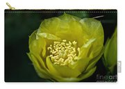 Pear Cactus Flower Carry-all Pouch