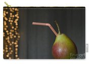 Pear With Straw Carry-all Pouch